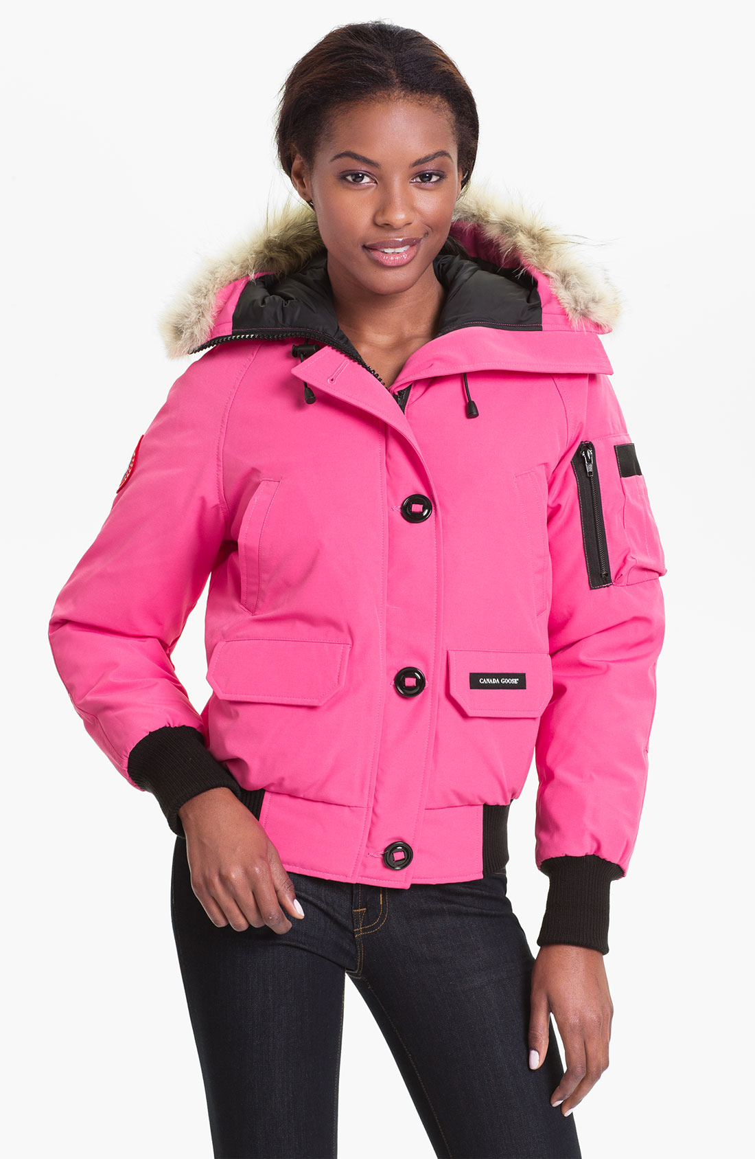 womens pink canada goose jacket