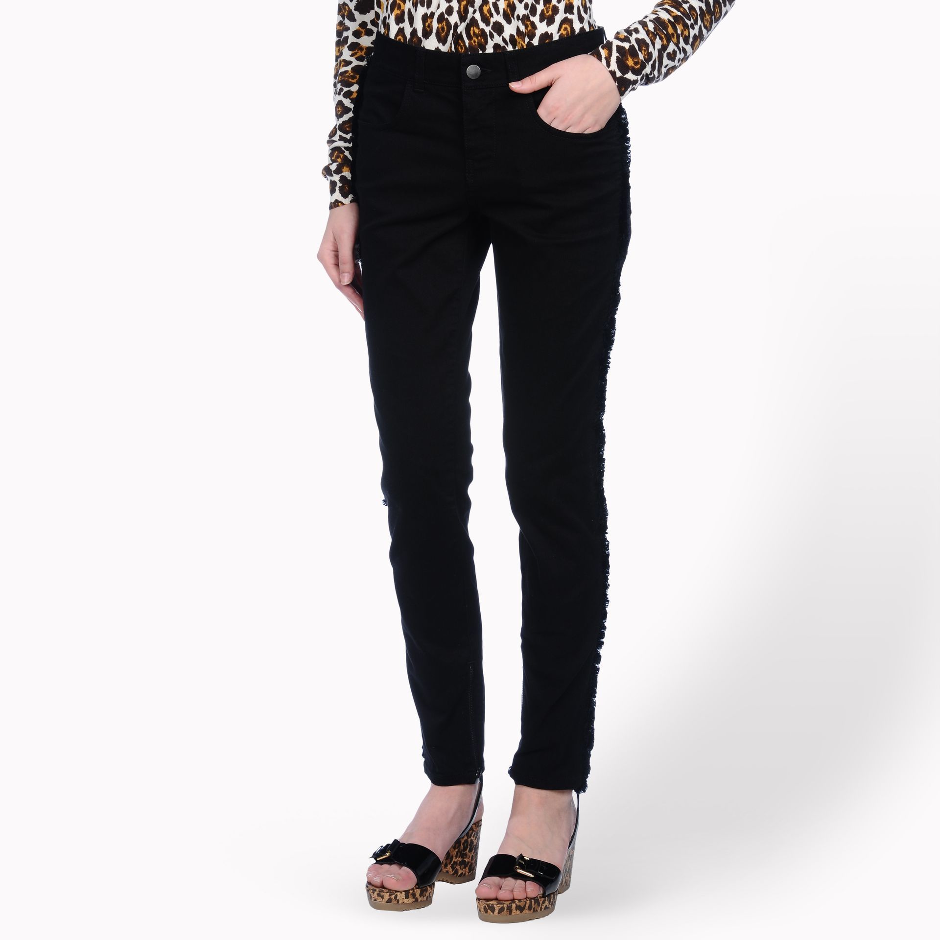 Sale Inexpensive Get To Buy For Sale skinny jeans - Black Stella McCartney Clearance 100% Authentic Clearance Recommend Reliable O8lSG