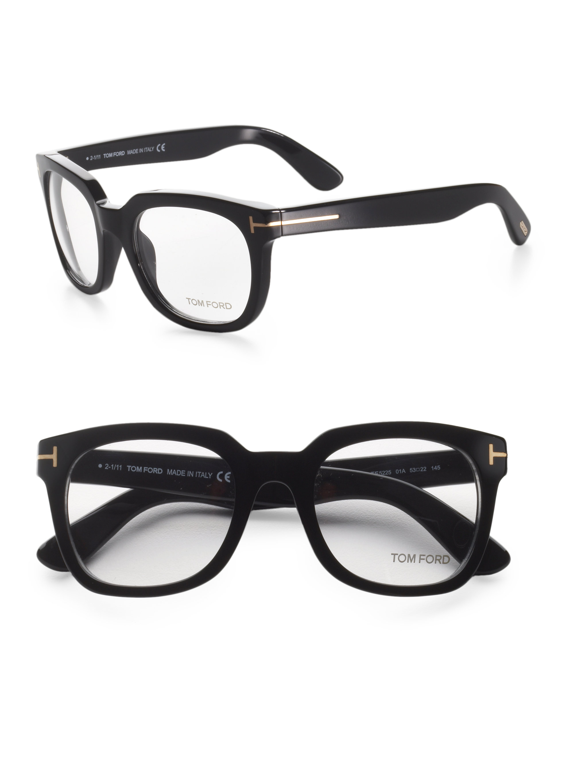 Lyst - Tom Ford Retro Optical Frames in Black for Men