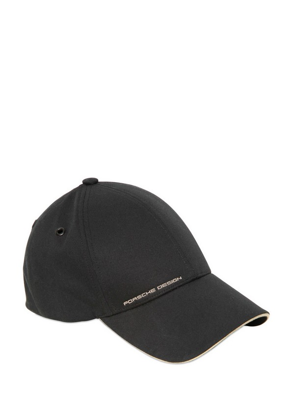 Porsche Design Stretch Cotton Golf Hat In Black For Men Lyst