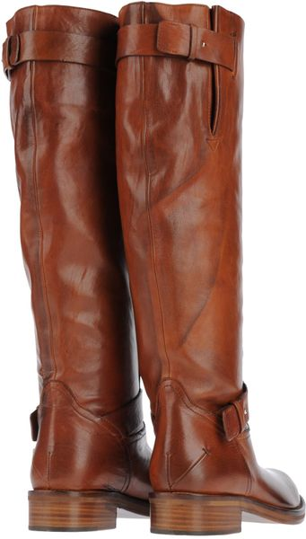 costume national boots in brown lyst