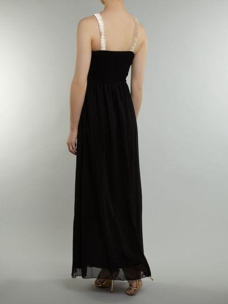 Little Mistress Lauren Pope Maxi Dress In Black Lyst