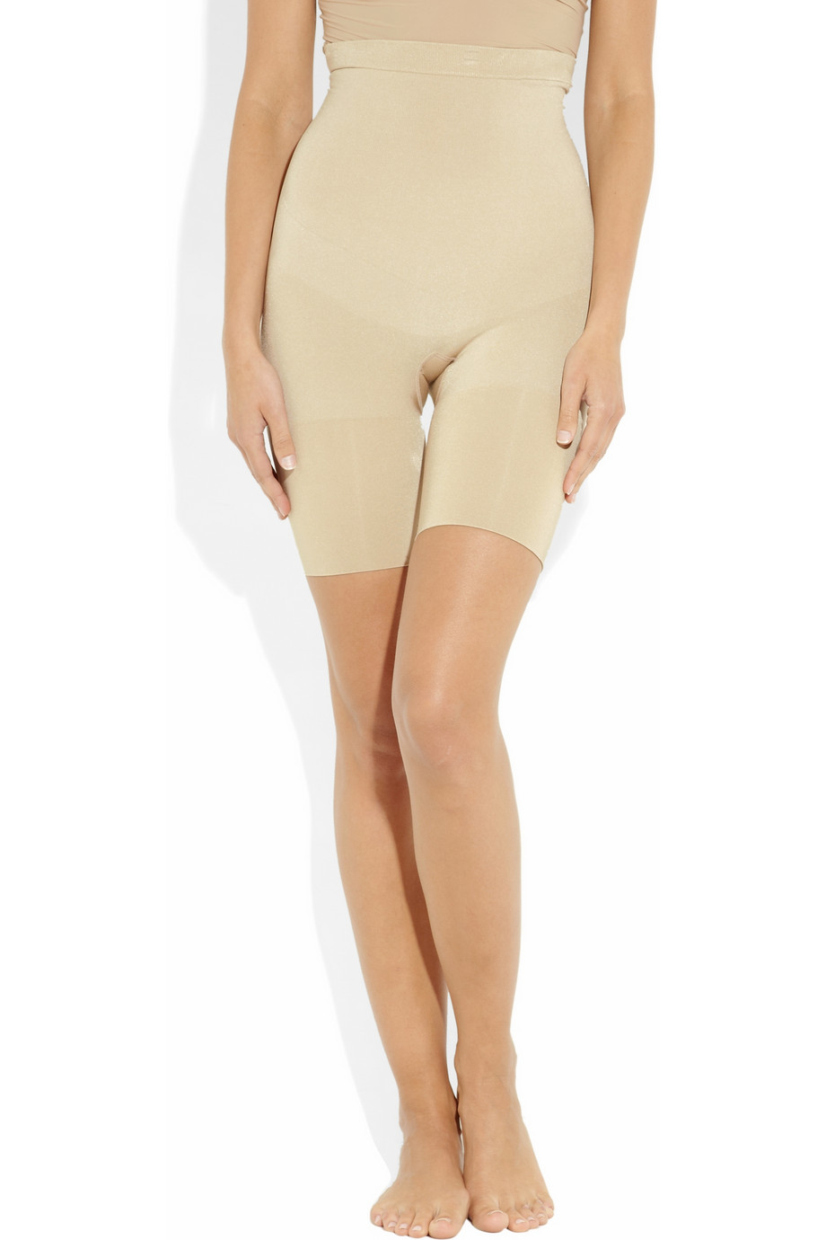 New Arrival Nude Skinny Butt Lift Britches Slimming Mid