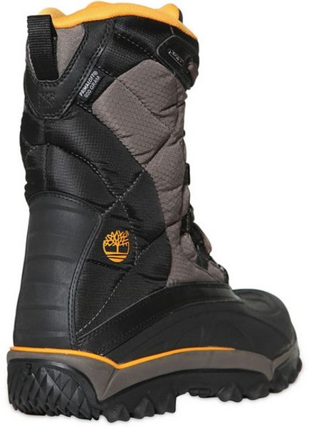 timberland tecnico snow boots in black for lyst