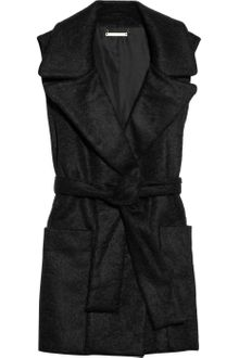 Diane Von Furstenberg Harrington Brushed-Felt Vest - Lyst