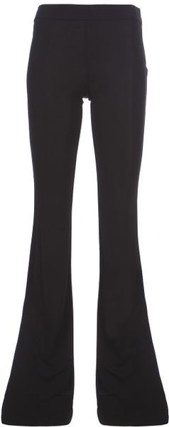 Pucci Flared Trouser in Black