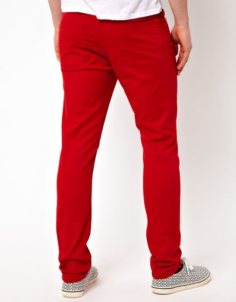Free shipping and returns on Women's Red Skinny Jeans at shopnow-vjpmehag.cf