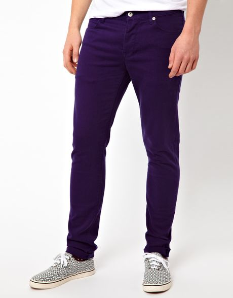 Men / Clothing / Pants / Jeans New Arrivals. Exclusively Ours. Style 2 Pocket; 5 Pocket PURPLE Distressed Metallic Skinny Jeans. $ PURPLE Distressed Skinny Jeans. $ John Elliott Max Organic-Cotton-Blend Skinny Jeans. $ Acne Studios Max Skinny Jeans. $ Givenchy Lightning-Bolt-Stitched Skinny Jeans. $