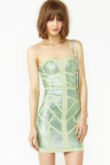 Nasty Gal Sequin Maze Dress