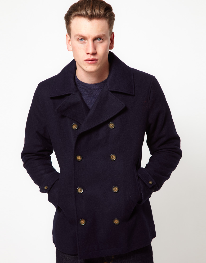 Original penguin Peacoat in Blue for Men | Lyst