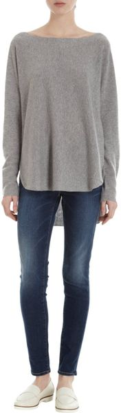 Vince Boatneck Sweater in Gray (steel)