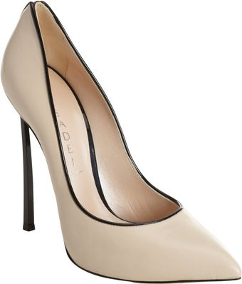 Casadei Contrast Piped Pump - Lyst