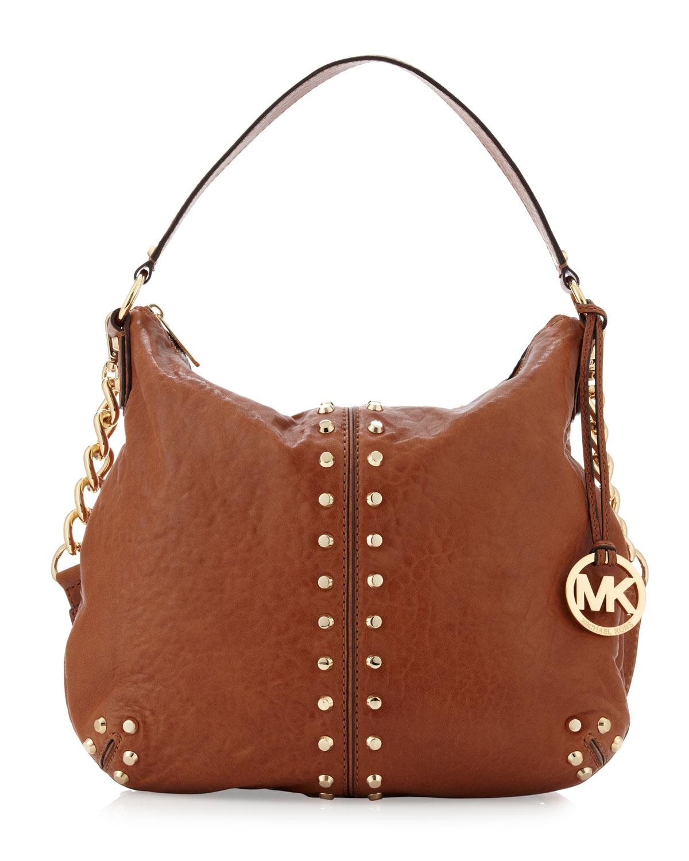 a7a7cc56ffb2 Michael Kors Black Leather Uptown Astor Large Satchel Tote Handbag ...