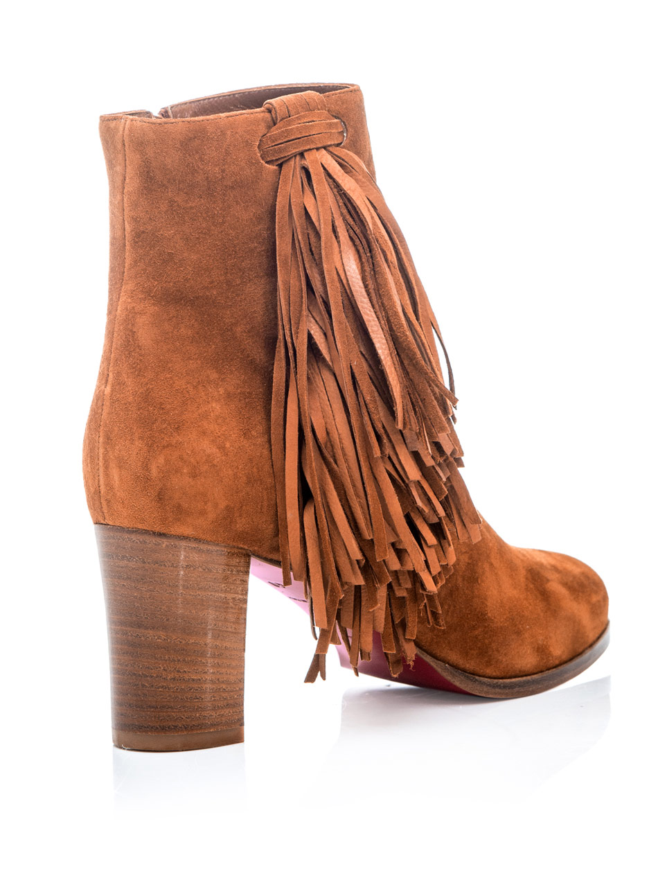 replica cl shoes usa - Christian louboutin Jimmynetta Ankle Boots in Brown (tan) | Lyst