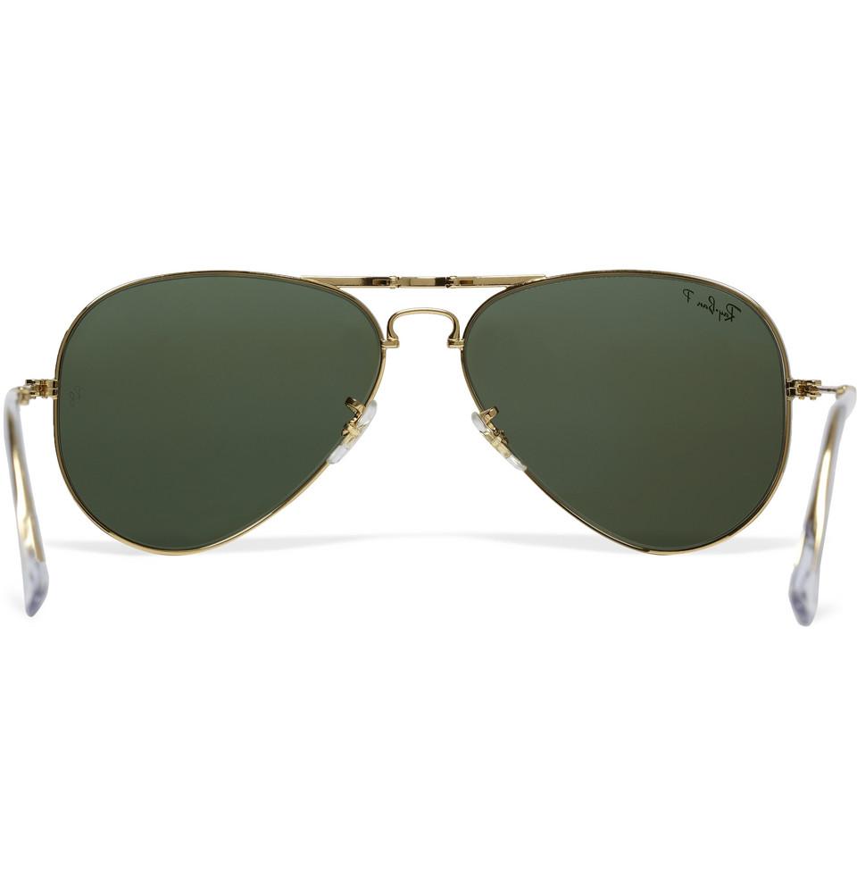 a37d41e0f41 Sunglasses Ray Ban Folding Aviator Gold « Heritage Malta