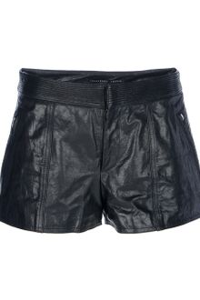 Theyskens' Theory Paluccia Leather Shorts - Lyst