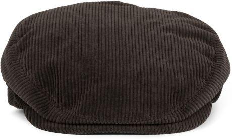 Dolce Amp Gabbana Corduroy Flat Cap In Brown For Men Lyst