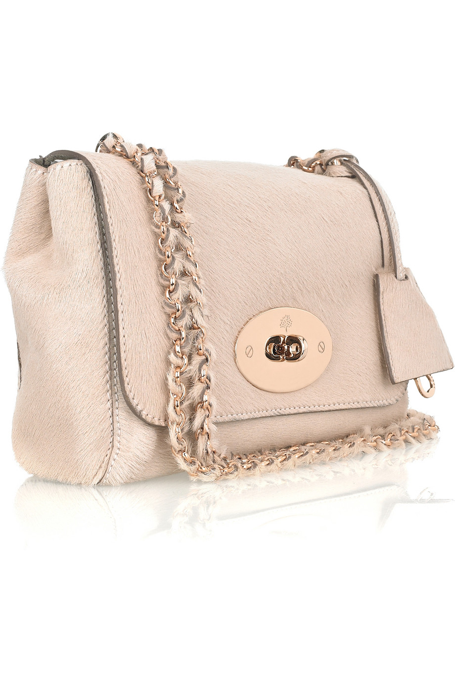 8203a44ef9 new zealand mulberry lily texturedleather shoulder bag in pink lyst f04f7  6dd43