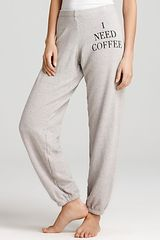 Wildfox Sweatpants I Need Coffee