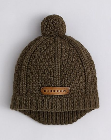 Knitting Pattern For Cashmere Beanie : Burberry Chunky Knit Wool Cashmere Beanie in Brown for Men ...