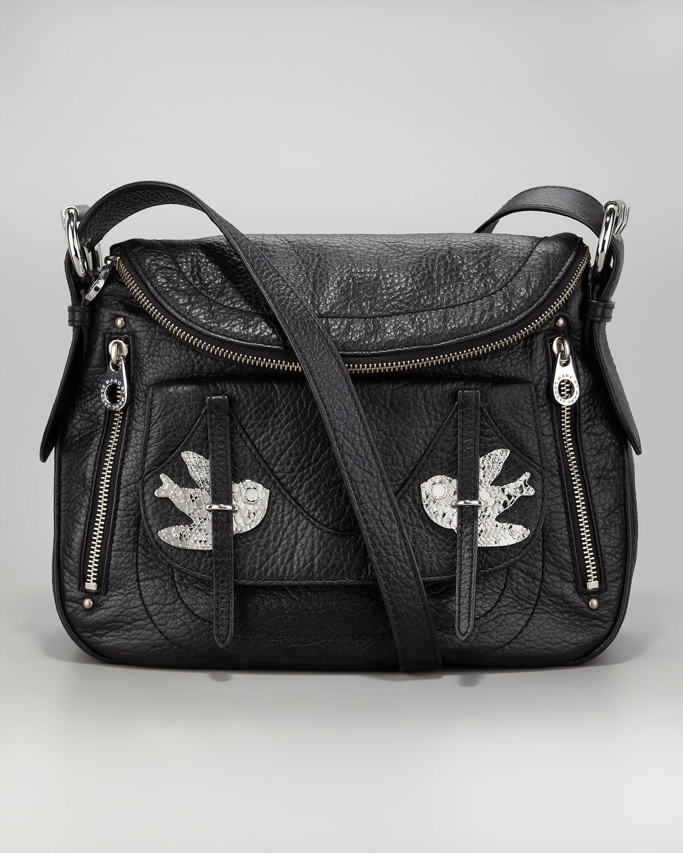 9551449d21e0 Marc By Marc Jacobs - Black Petal To The Metal Natasha Crossbody Bag - Lyst