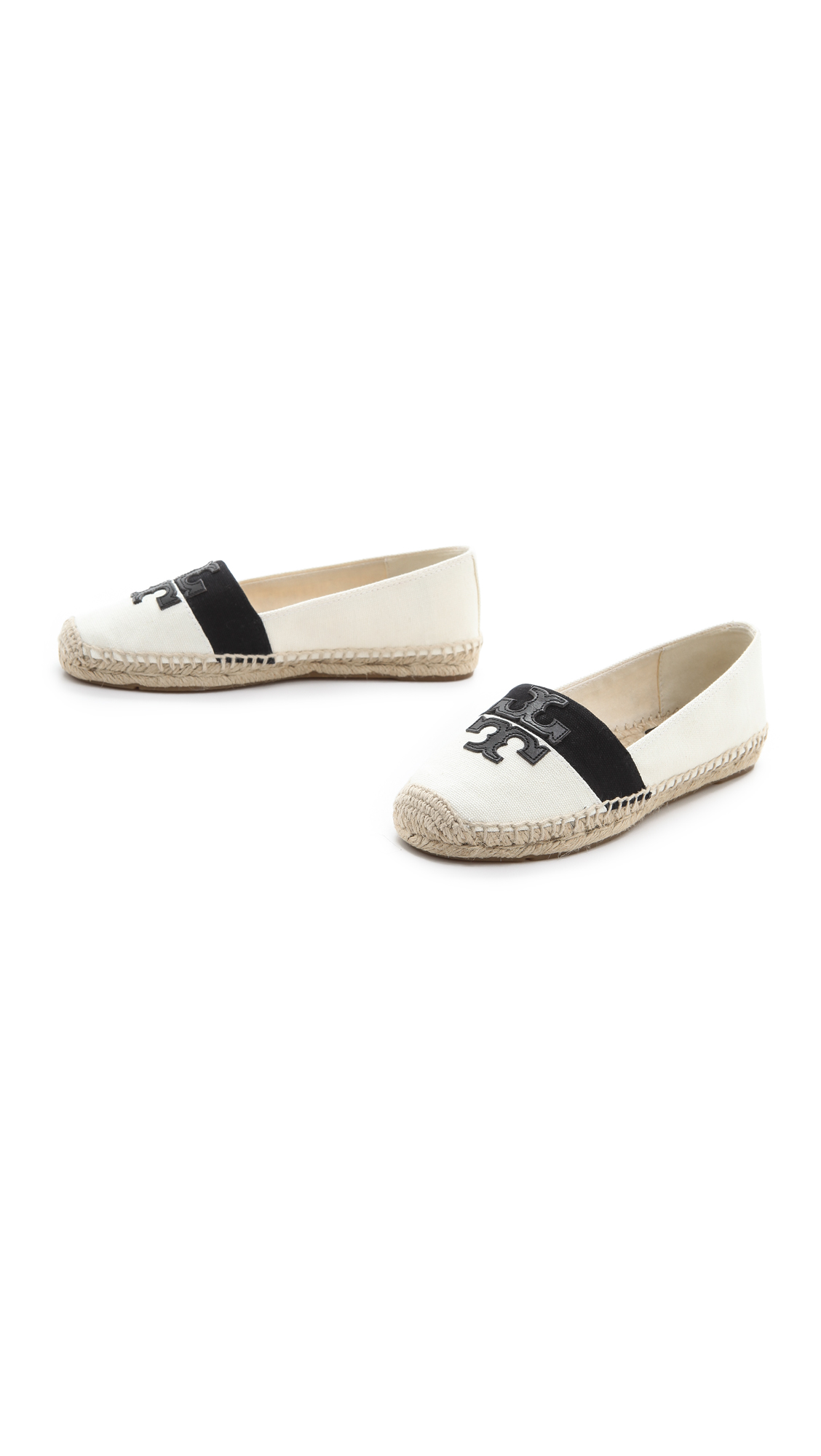 4fc1b252f93 Lyst - Tory Burch Weston Espadrilles in White