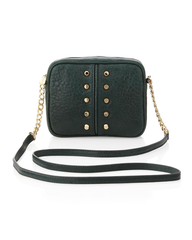 Lyst - Michael Kors Uptown Astor Crossbody Bag in Green f228e1680fd1a