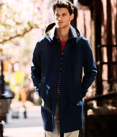H&m Parka in Blue For Men