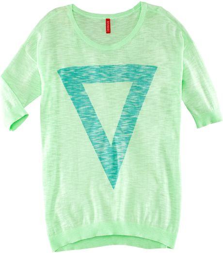 H&m Jumper in Green (mint)