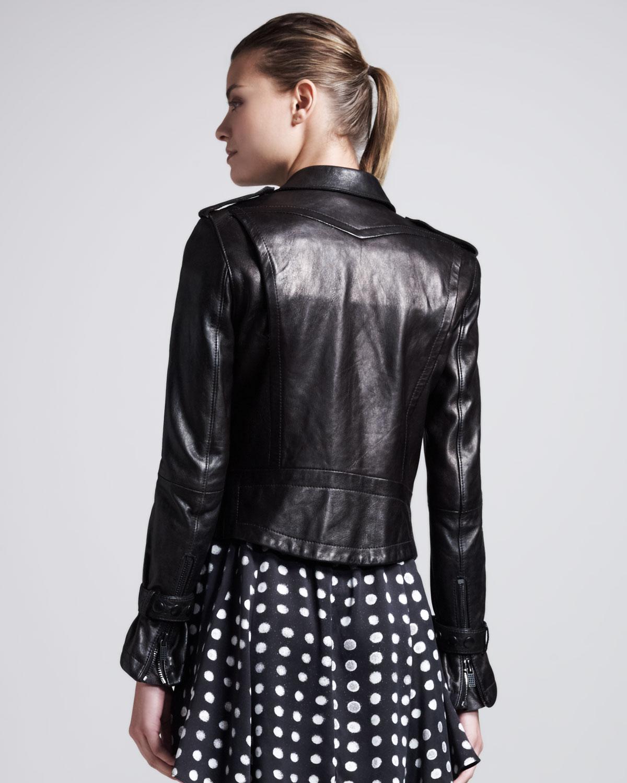 Kelly jones leather jacket