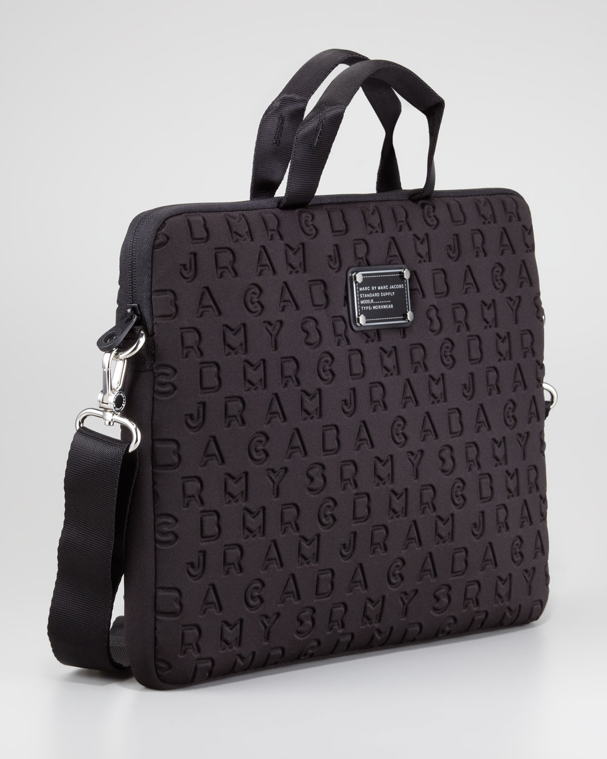 48cc0bed99ad Lyst - Marc By Marc Jacobs Dreamy Logo Neoprene Commuter 15 Laptop ...