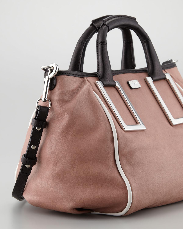 Chlo¨¦ Ethel Medium Crossbody Bag in Pink (tamaris pink) | Lyst