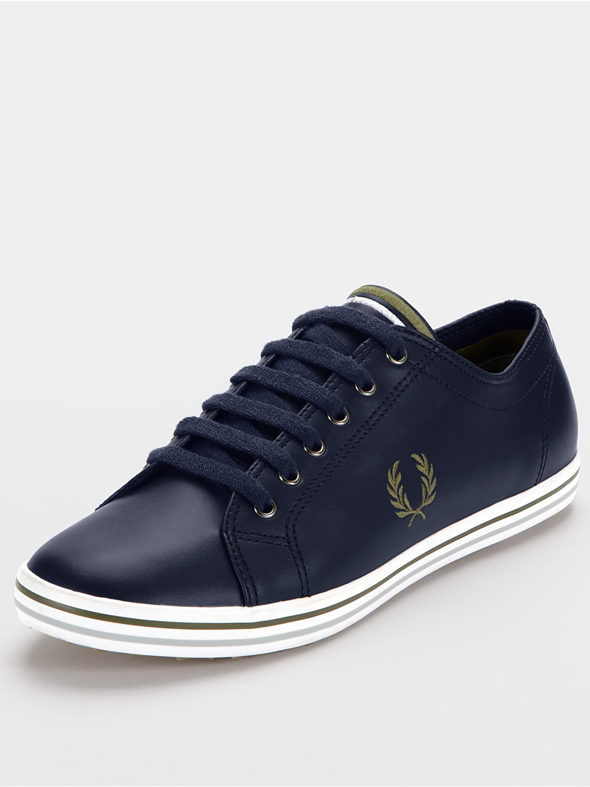 Fred Perry Men S Kingston Leather Fashion Sneaker