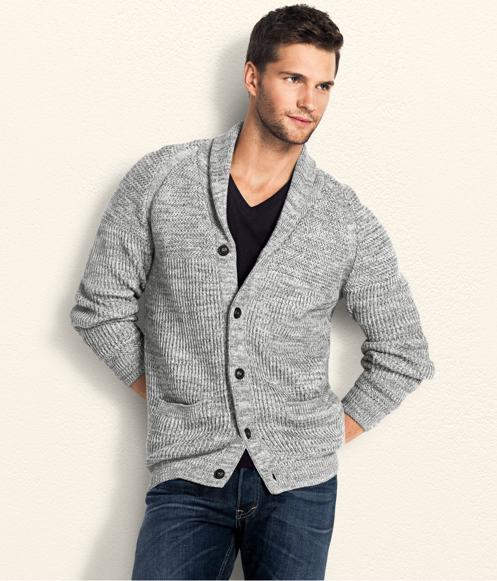 H&m Cardigan in Gray for Men | Lyst
