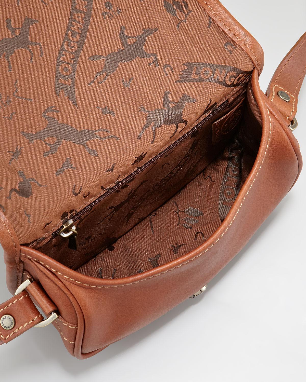 5119c558f694 Lyst - Longchamp Cross-Body Bag in Brown