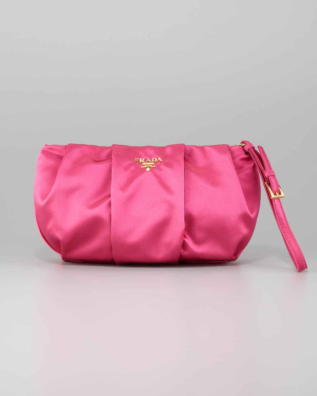prada mini promenade - prada satin wristlet, prada nylon tote bags