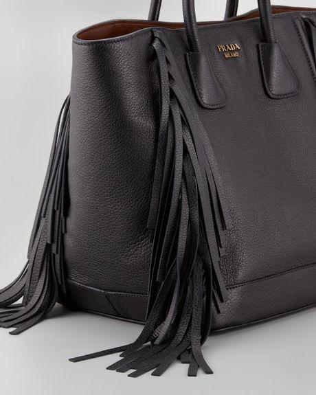 prada black clutch bag - Prada Handbags: Prada Bag With Fringe