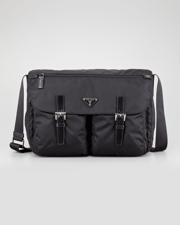 prada saffiano lux tote replica - prada messenger bag nylon and leather bag