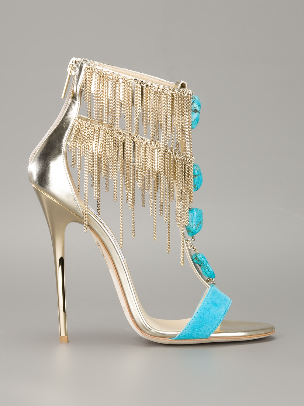 203de914d81 Shoeniverse  JIMMY CHOO Blue Belle Sandal