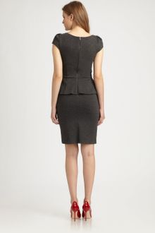 Alice + Olivia Adeline Peplum Dress - Lyst
