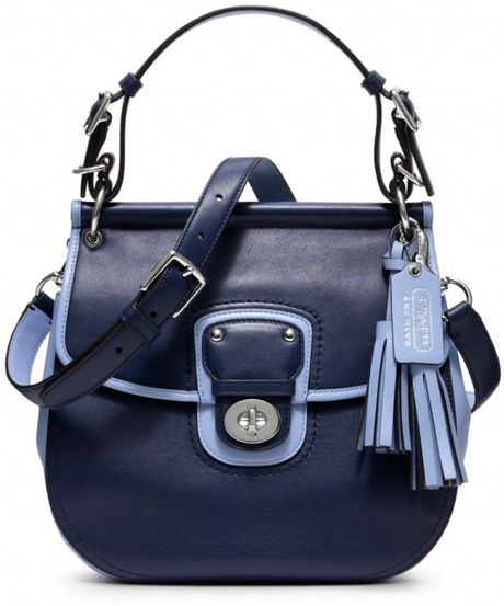 Coach Willis Bag in Blue (sv/navy/chambray)