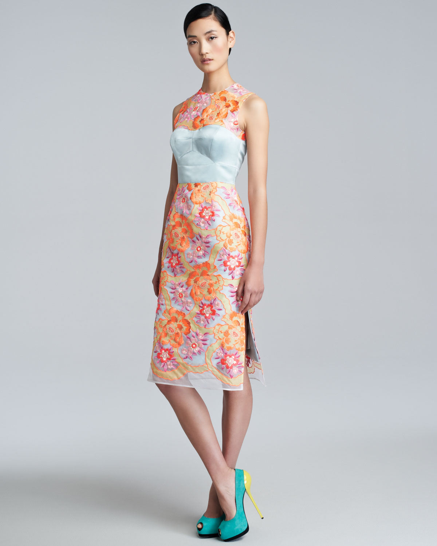 Erdem maxi dress