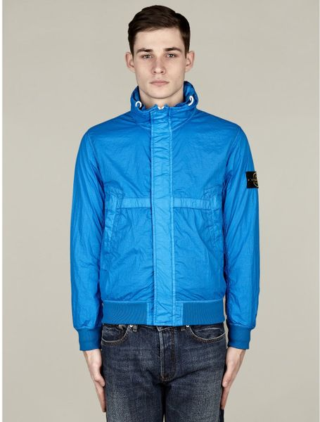 Stone Island Mens Membrana Tc Jacket in Blue for Men - Lyst