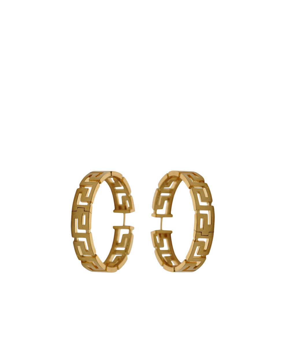 Elegant Versace  Multicolor Medusa Drop Earrings  Lyst