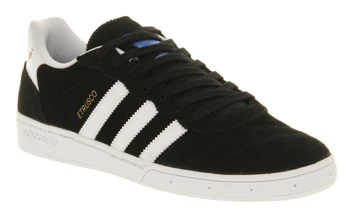 mens adidas black etrusco trainers