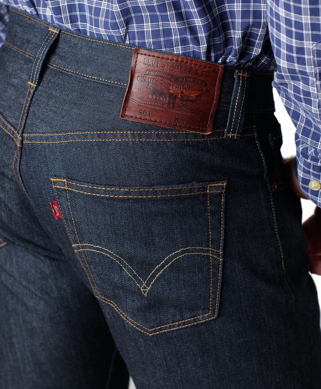 94687567b5f Brooks Brothers Levis 514 Slim Fit For Brooks Brothers in Blue for ...