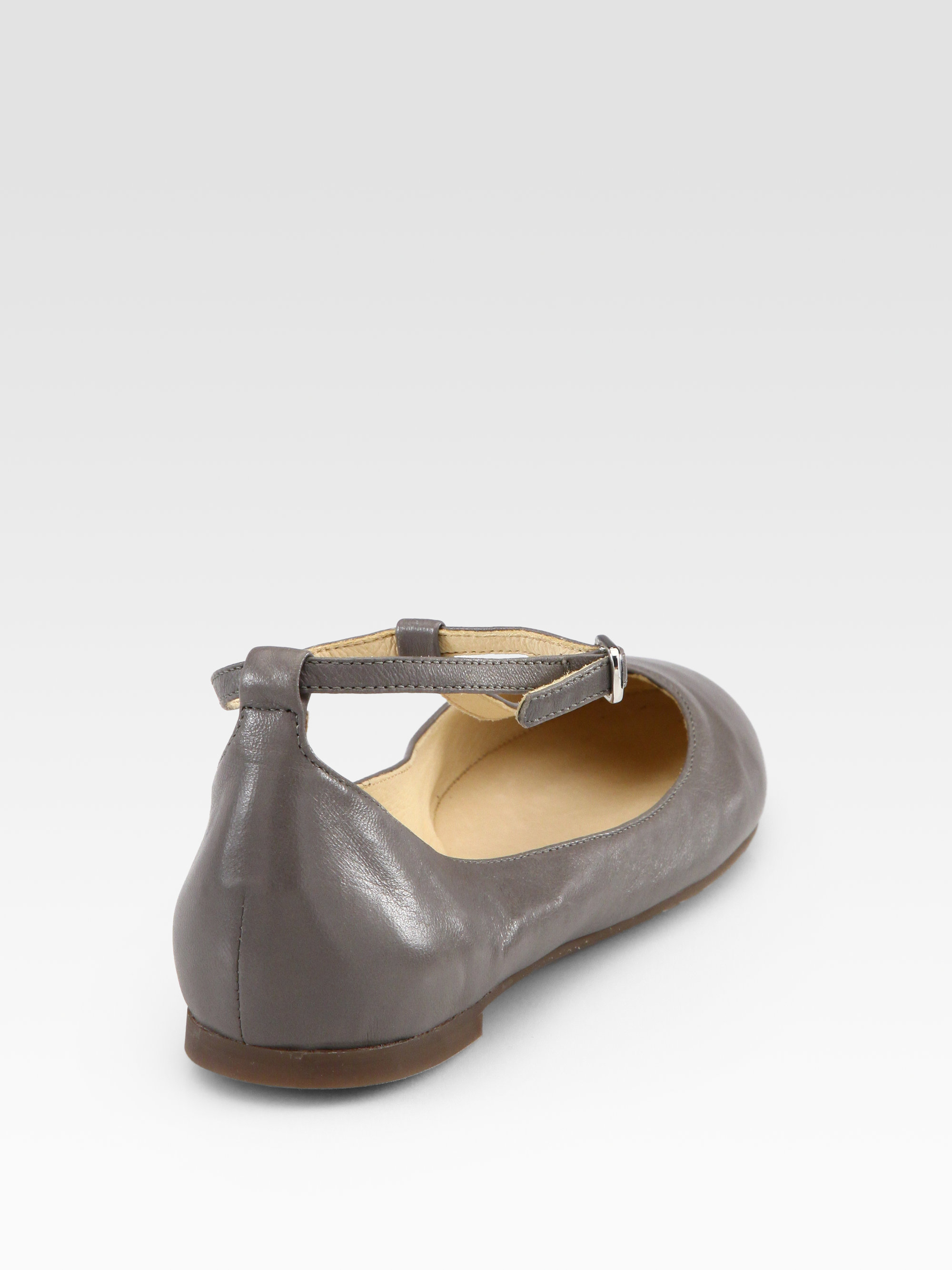 buy cheap discount Chloé Leather T-Strap Flats with paypal cheap online buy cheap reliable tvG71m