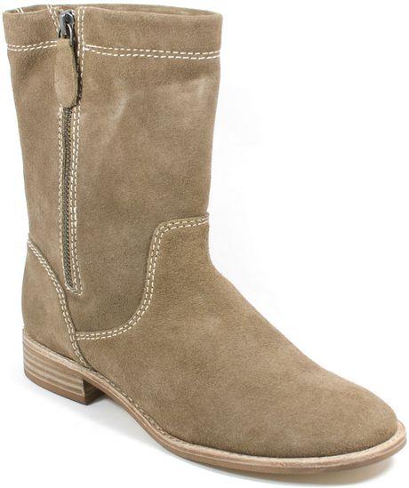 Splendid Toluca Suede Boots In Beige Tan Suede Lyst