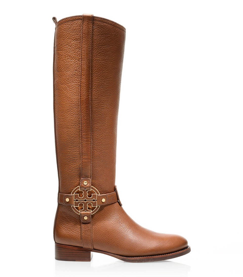 Tory burch Amanda Riding Boot in Brown | Lyst