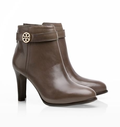 Tory Burch Bristol Bootie In Brown Elephant Lyst